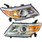 Headlight Set For 2011 2012 2013 Honda Odyssey Left and Right With Bulb 2Pc