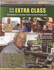 Extra Class Book 2016-2020- by Gordon West ( GWEM )