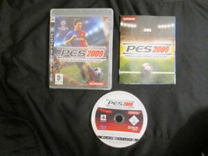 PS3 : PRO EVOLUTION SOCCER 2009 - PES 2009 - Completo, ITA ! Prima stampa !