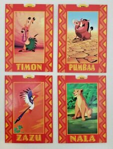 1994 Disney Skybox - The Lion King Pop Up Cards - Near Complete Set of 9 Cards