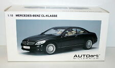 Autoart 1/18 MERCEDES CL CLASS BLACK DIECAST MODEL 76165