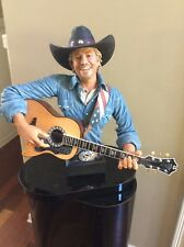 Excellent Condition Toby Keith Brass Statue 23 Tall x 21 Wide WG #157of 500