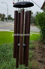 """LARGE 50"""" WIND CHIME BROWN 50"""" LARGE WIND CHIME"""