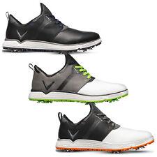 2019 Callaway Mens Apex Lite S Lightweight Waterproof Spiked Cleat Golf Shoes