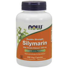 NOW Foods Silymarin/Milk Thistle Extract 2X - 300Mg, 200 Vcaps