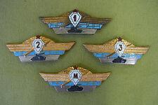 4 Stck Russland Abzeichen - Panzersoldat - Rarität