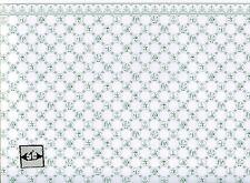 Dutch Tile, green on white wallpaper Jackson's Miniatures dollhouse 1pc JM07