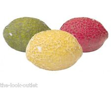 MOSAIC GLASS LEMONS - CHOOSE COLOURS - GREAT FOCAL POINT FOR ROOMS