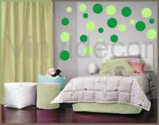 216 POLKA DOTS VINYL WALL STICKER ART  CIRCLES DECAL KG