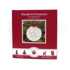 Child to Cherish Marshmallow Clay Handprint Christmas Ornament Kit - 159654