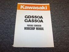 Kawasaki GD550A GA550A Portable Generator Workshop Shop Service Repair Manual