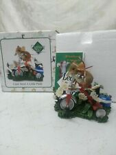 """Charming Tails """"I Just Need A Little Push"""" Figurine, 89/325 Fitz & Floyd"""