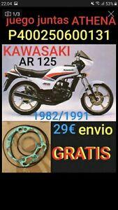 Juego de juntas ATHENA P400250600131 para KAWASAKI AR 125 1982/1987