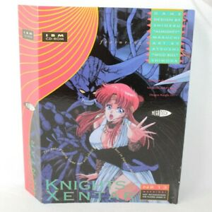Knights of Xentar PC Big Box Game 1994 MegaTech ** Empty Slip Sleeve Box Only
