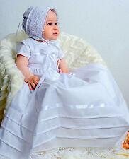 Taufkleid mit Mütze, Baby*Junge* Mädchen, 68, Baumwolle