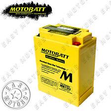 BATTERIA MOTOBATT MB12U HONDA VT FT ASCOT 500 1983>1984