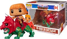Masters of The Universe Funko Pop Rides 84 He-man on Battlecat 9 X 18 Cm Figure