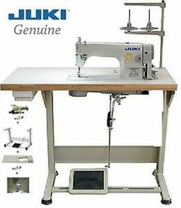 Juki DDL-8700 Lockstitch Sewing Machine w/ Servo Motor,Stand,Lamp DIY DDL8700