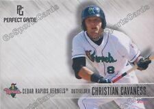 2016 Cedar Rapids Kernels Christian Cavaness RC Rookie Twins