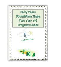 EYFS 2 YEAR OLD PROGRESS CHECK FORMS PACK childminder/pre-school/nursery