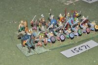 25mm dark ages / viking - warband 23 figs - inf (15671)