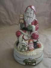 Santa Delivering Toys Sankyo Music Box
