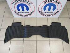 DODGE RAM QUAD CAB Rear Dark Slate Gray Slush Mats NEW OEM MOPAR