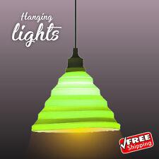 VINTAGE RETRO LIGHT SHADE Hanging Pendant Rustic Ceiling Lamp Cafe Restaurant
