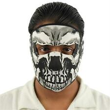 Two Guns Blazing Skull Mask - Airsoft - Paintball - Motorcycle - NEW - Mask1