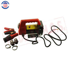 12V Diesel Cast Fuel Oil Transfer Pump 175W Biodiesel Kerosene Pump 45L/Min NEW
