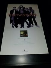 Fleetwood Mac Big Love Rare Original Radio Promo Poster Ad Framed!