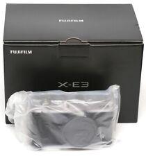 * BRAND NEW * Fujifilm Fuji X-E3 24.3 MP SILVER Body Only