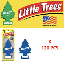 New car scent Freshener10189 Little Trees  MADE IN USA Pack of 120