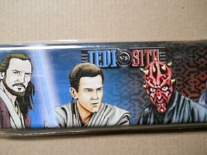 STAR WARS JEDI SITH METAL PENCIL BOX, NEW IN THE PACKAGE, STAR WARS COLLECTOR
