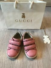Gucci baby sneaker size EUR 20 (US 4)