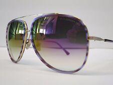 DITA CONDOR TWO Purple Swirl Shiny 18K Violet Optique Glasses Eyewear Sunglasses