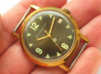 Rare soviet VOSTOK Komandirskie Military watch Uncommon Grey dial. ZAKAZ MO USSR