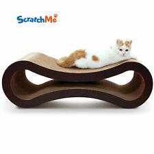 New listing ScratchMe Cat Scratcher Lounge Post Furniture Rest Sleep Scratching Cardboard