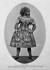 Print. ca 1861. Circus Sideshow Freak Bearded Lady - J Pastrana