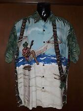 Vintage Tori Richard Men's Hawaiian Shirt Size M