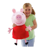 Peppa Pig Giant Talking Peppa Soft Toy Cuddle Up To This Massive 22 Inch Soft