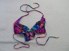 Jessica Simpson Tulum Ruffle Bandeau Multicolor S-$64