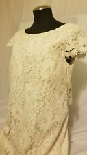 NWT Eliza J Ivy Ivory Lace Dress Size 12P