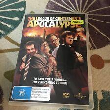THE LEAGUE OF GENTLEMEN'S APOCALYPSE DVD. EX RENTAL.