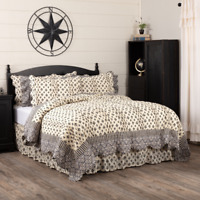 VHC Elysee Quilt (you choose size & accessories) ~ French Country Fleur De Lis
