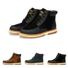 Men's High Top Casual Outdoor Lace Up Combat Ankle Boot Classic Trail Shoes New