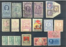 ITALY 20 x INCLUDED POSTER STAMP / BACK OF BOOK / REVENUES -F/VF