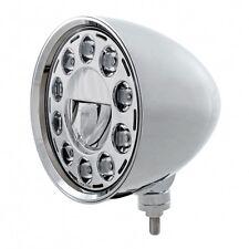 "UNITED PACIFIC 31584 - LED 7"" Chrome Billet Style ""CHOPPER"" Headlight"