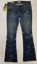 *NWT*William Rast Women's Belle Flare Jeans In Pony Tail 25 MSRP:$200