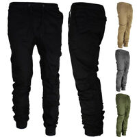 Military Mens' Casual Trousers Gym Running Jogger Sweatpants Long Sport Pants